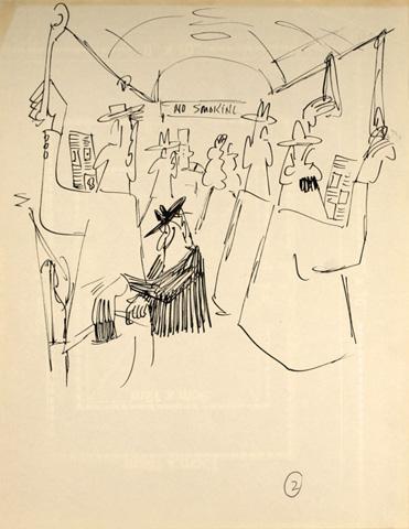 Ein Exponat der Don Martin Ausstelllung