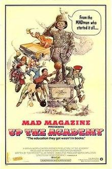 Up the Academy - Das Filmplakat