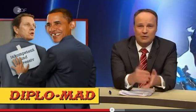 MAD, Obama und die ZDF Heute Show