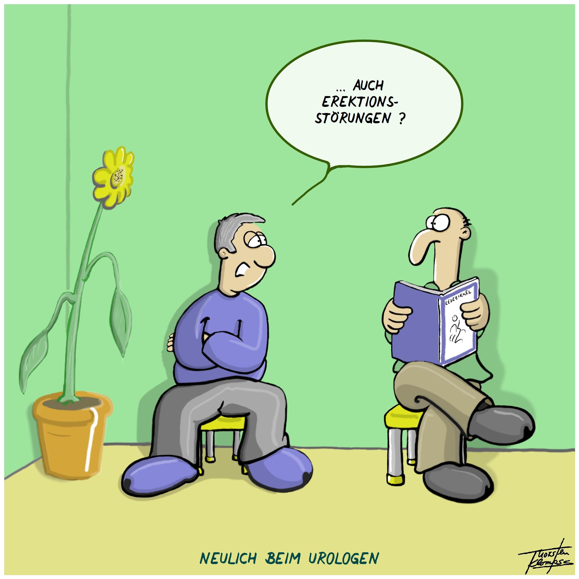Comics von Thorsten Klomfass, Teil 80: Urologe