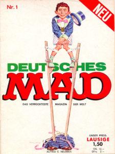 Deutsches MAD Magazin Nummer 1