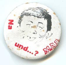 """MAD """"Na und....?"""" Pin"""