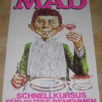 Deutsches MAD Werbeposter
