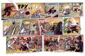Spy vs. Spy Art by Peter Kuper