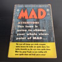 USA MAD Magazin Nummer 17, Comic Heft Grösse, sehr selten