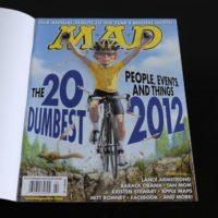 USA MAD Magazin Nummer 519 mit Subscription Schutzcover