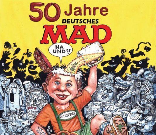 Comic Ausstellung München 2017 Flyer