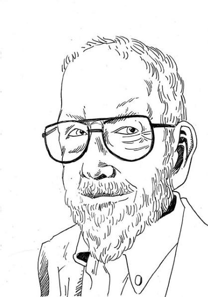 """Al Jaffee verschenkt sein gesamtes Archiv """"voller verschwendeter Jugend"""" an die Columbia-Universität - Selbstporträt"""