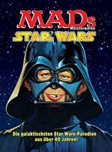 Das Bild zeigt das neue MAD Meisterwerke Star Wars Buch