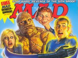 US MAD Magazin Nummer 456 mit den Fantastic Four