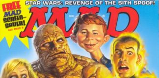 US MAD Magazin Nummer 456 mit den Fantastic Four