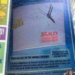 Bild der Verkaufsanzeige der MAD Wanduhr