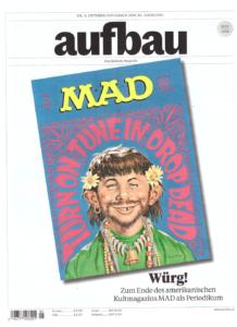 Aufbau September 2019 Ausgabe mit MAD Artikeln