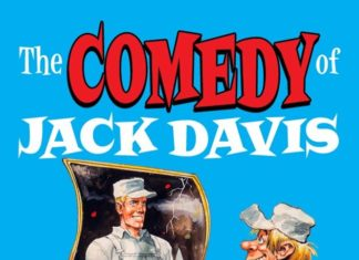 """Neues Buch """"The Comedy of Jack Davis"""""""