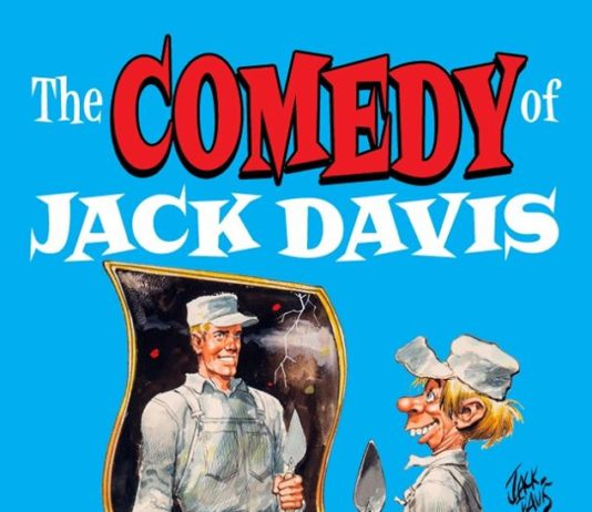 "Neues Buch ""The Comedy of Jack Davis"""