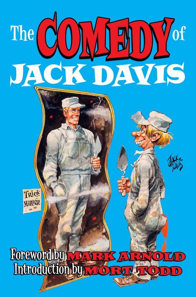 """Neues Buch """"The Comedy of Jack Davis"""" über die Cracked Beiträge von Jack Davis"""