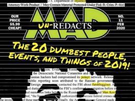 Das Titelbild der US MAD Ausgabe Nummer 11