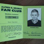 MAD Fanclub Ausweis (Innenseite)