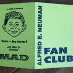 MAD Fanclub Ausweis (Aussenseite)
