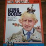 Der Spiegel Nummer 37 mit King Boris