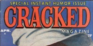 US Cracked Magazine mit Sylvester P. Smythe auf dem Cover