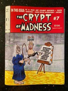 Die 7.Ausgabe von Crypt of MADness