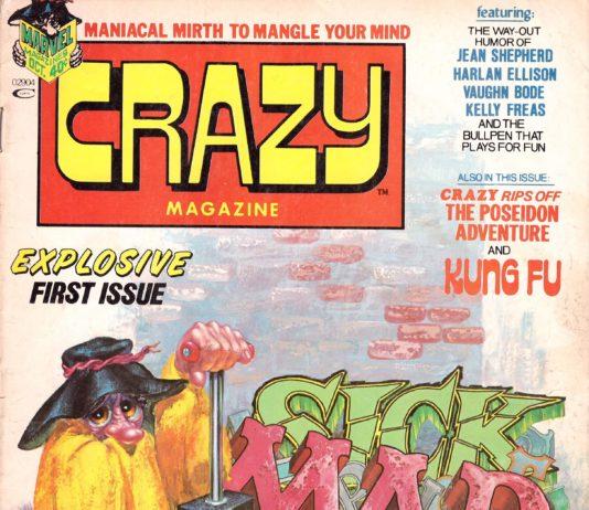 Die erste Crazy Magazine Ausgabe