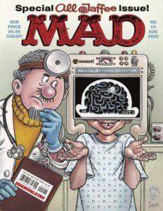 Die Al Jaffee Tribut Ausgabe des MAD Magazins